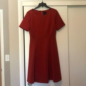 Rust/orange Alex Marie Dress